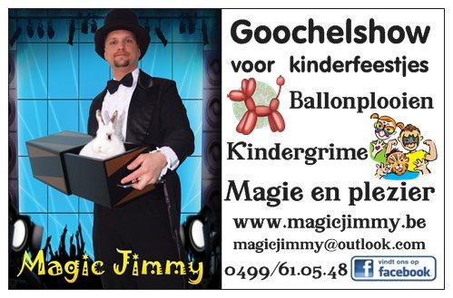 Goochelshow voor kinderen
